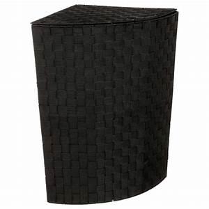 Panier A Linge D Angle : panier linge d 39 angle 60cm noir ~ Teatrodelosmanantiales.com Idées de Décoration
