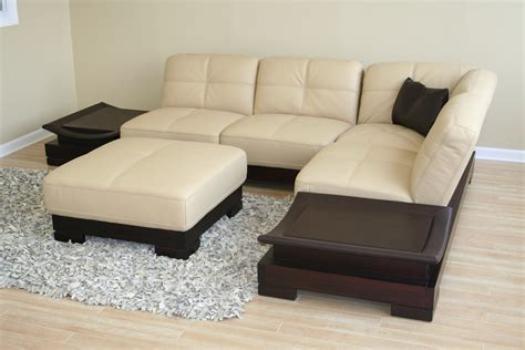 small scale leather sectional sofas hereo sofa