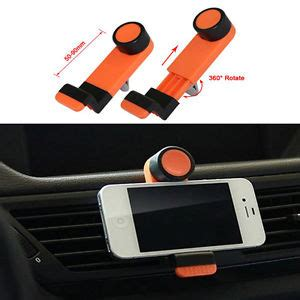 accroche portable pour voiture t 233 l 233 phone support voiture portable grille a 233 ration pour t 233 l 233 phone mobile iphone ebay