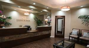 logo option textured front desk wall color pt clinic front desk wall