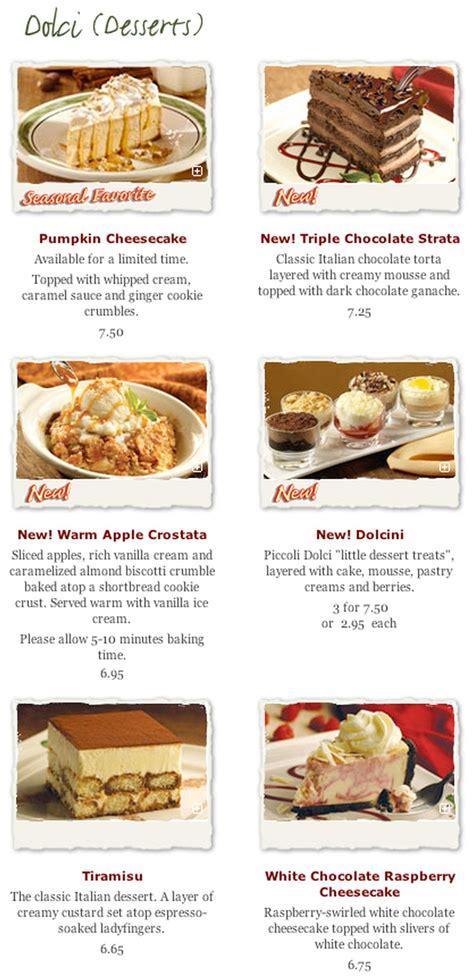 olive garden dessert menu menu for olive garden in palo alto california