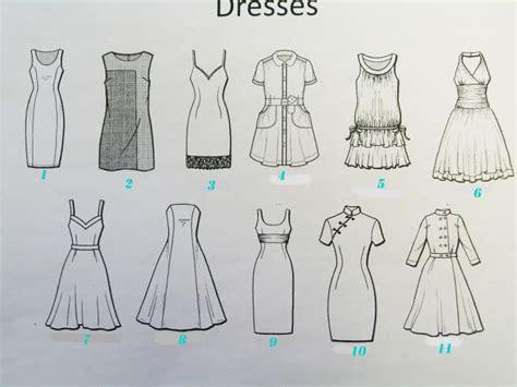 23 Popular Womens Dress Style Names