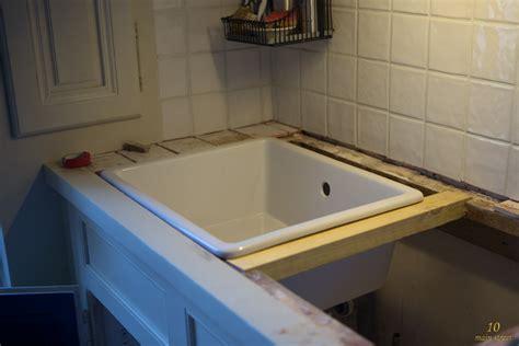evier cuisine sous plan rénovation de la cuisine préparation de l 39 évier ikea