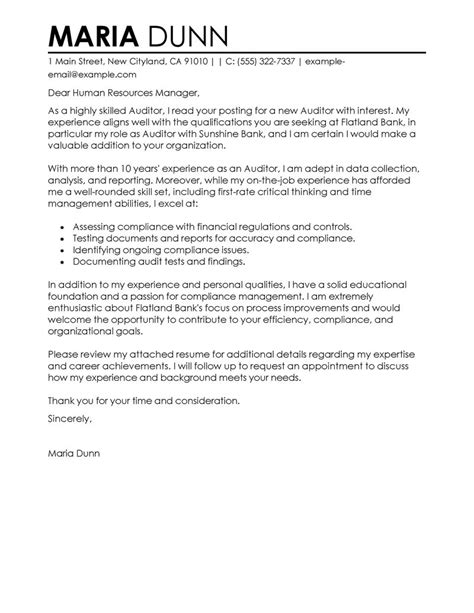 Excellent Cover Letter Samples | Resume Examples