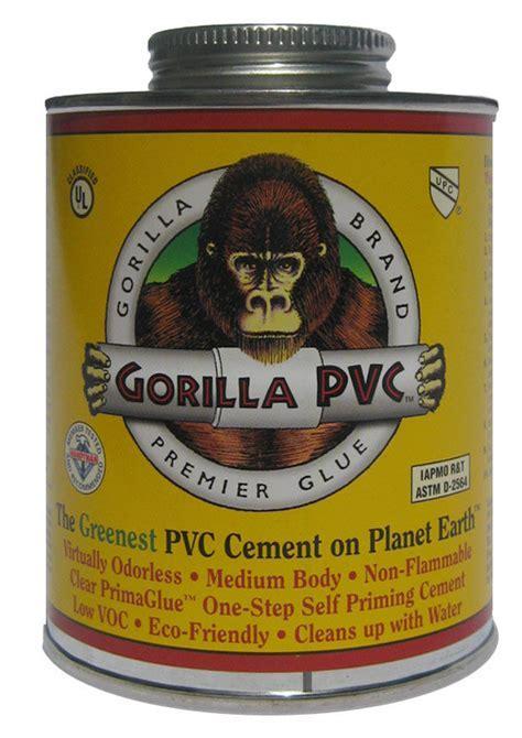 Gorilla Glue PVC Cement   Eco Friendly, Low Odor