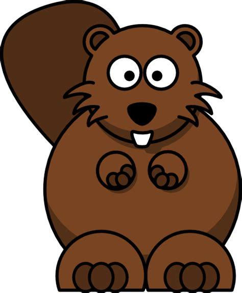 cartoon beaver clip art  clkercom vector clip art