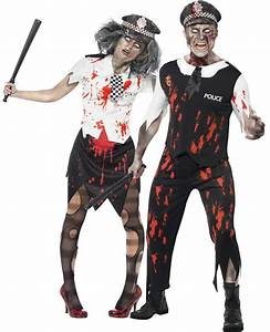 Halloween Paar Kostüme : zombiekost m polizistenpaar halloween paarkost me und g nstige faschingskost me vegaoo ~ Frokenaadalensverden.com Haus und Dekorationen