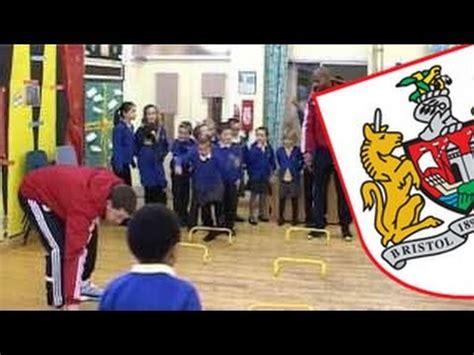 Bristol City FC visit Stoke Lodge Primary School - YouTube