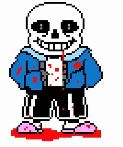 Sans Undertale Exe Pixel Maker