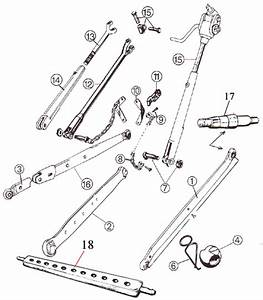 Mf - 3 Point Linkage Lower Lift Arms