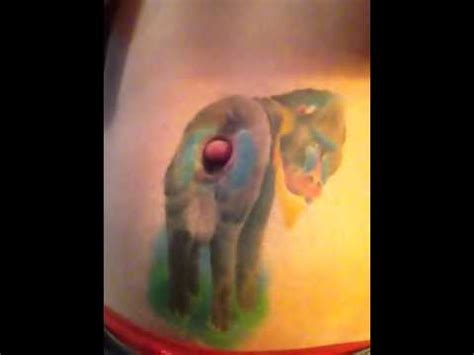 Geordie Belly Button Tattoo Youtube