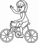 Coloring Bike Bicycle Bmx Getdrawings sketch template