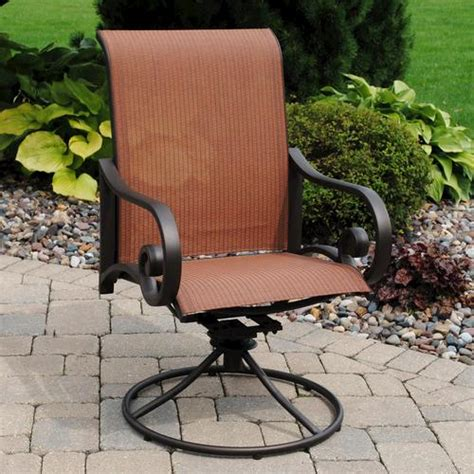 backyard creations melbourne swivel rocker at menards 174