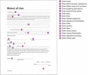 Final Lien Waiver Release Form
