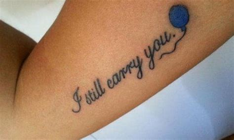 miscarriage tattoos   parents remember