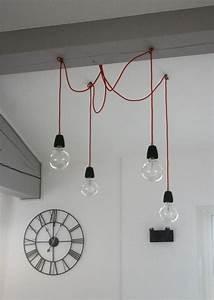 Suspension Luminaire Industriel : luminaires originaux les suspensions ampoules picslovin ~ Teatrodelosmanantiales.com Idées de Décoration