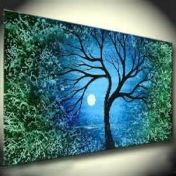san francisco flower delivery modern abstract on canvas tree painting eg1 044