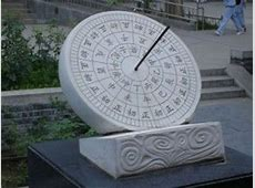 Sundial and Copper Clepsydra Chinese Handicrafts and