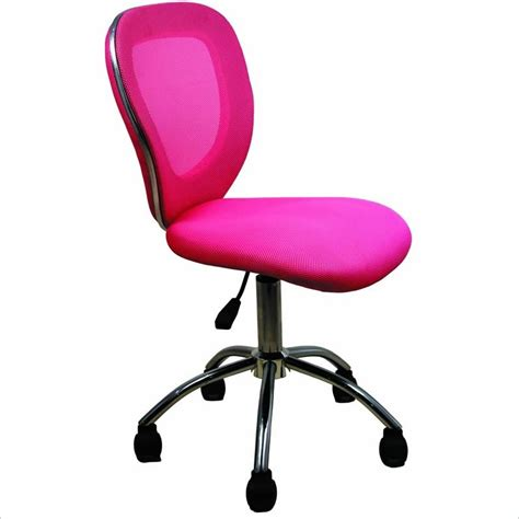 Techni Mobili Desk Chair by Techni Mobili Q030 Mesh Pink Office Chair Ebay
