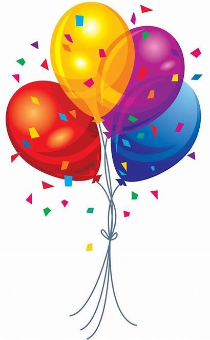 Confetti Balloons Transparent Purepng Colors