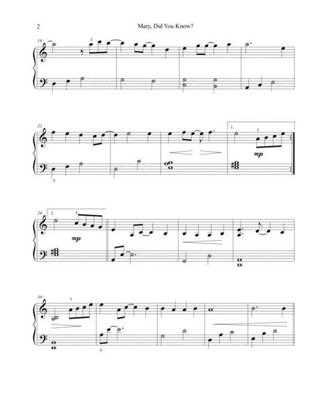 This song has been done by clay aiken, ceelo green, mary lowry, pentatonix how to play mary did you know on the piano. Mary, Did You Know? - Easy Piano By Kathy Mattea - Digital Sheet Music For Sheet Music Single ...