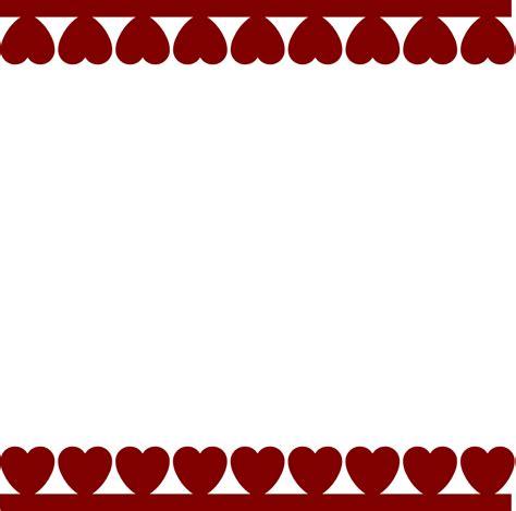 hearts border svg | Tu J's and a Taco