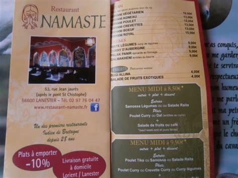 cuisine bon rapport qualité prix bon rapport qualite prix picture of restaurant namaste