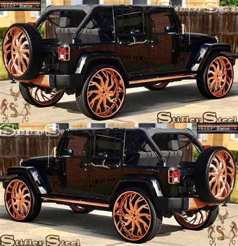 Jeep Rose Gold Finish Illustration Projects To Try Out