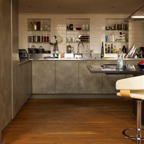 kitchen alcove ideas alcove storage kitchen stylish london apartment house tour housetohome co uk