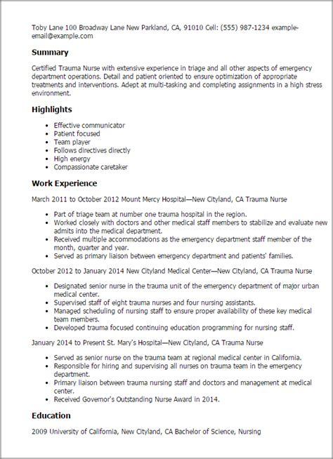 emergency technician resume sle resume my