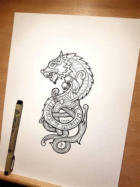 fenrir tattoo ink tattoos viking tattoos celtic tattoos