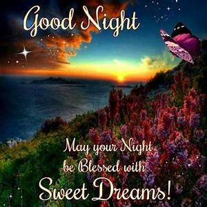 Good Night, Sweet Dreams - Butterfly | His Cornerstone ...