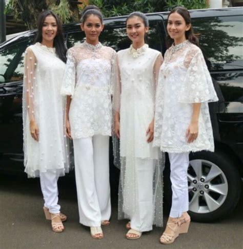 Abaya Gangga Set Celana gaun pesta celana