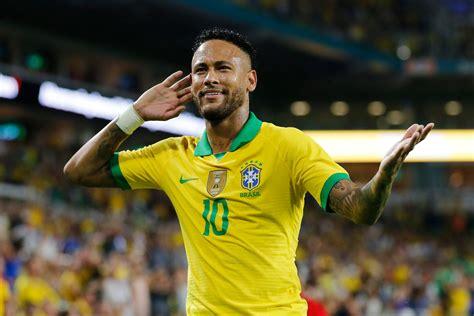 tite neymar  happy   brazil squad ronaldocom