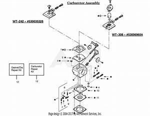 Poulan Ge21 Gas Edger Parts Diagram For Carburetor Assembly