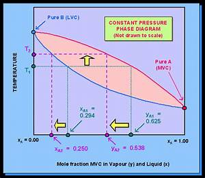 Figure 203  Phase Diagram At Constant Pressure