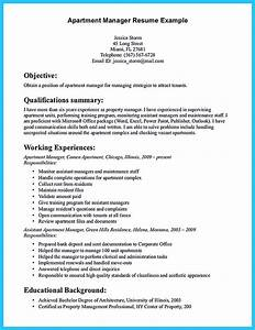 writing a great assistant property manager resume With how to write a resume for a manager position