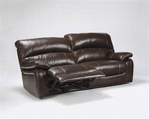 damacio dark brown 2 seat reclining sofa u9820081 With leather sectional sofa with 2 recliners