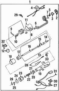 2002 Cadillac Eldorado Steering Column Spring  Upper