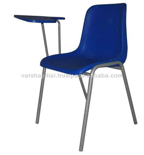 school chair with writing pad school furniture