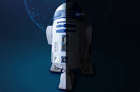 Star Wars Droid C2-b5 Takes R2-d2 To The Dark Side