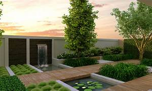 Modern garden design modern magazin for Modern garden design