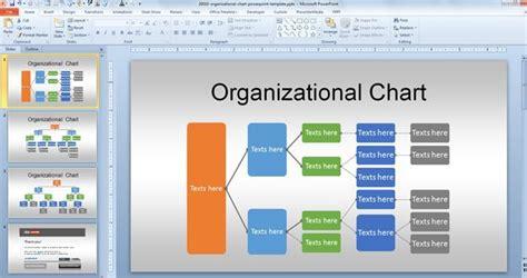 org chart powerpoint template  organizational