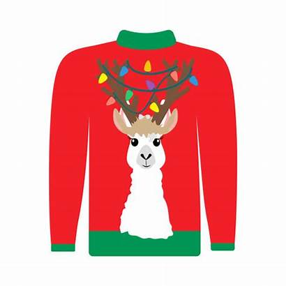 Ugly Sweater Christmas Vector Illustrations Clip Illustration