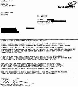 juniper bank sample debt settlement offer letter leave With free sample debt settlement offer letter