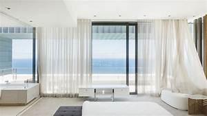 Baie Vitree Coulissante : habiller une baie vitr e avec des rideaux ~ Dallasstarsshop.com Idées de Décoration