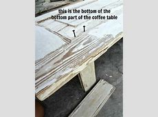 how to make a wood coffee table out of old doors {assembly