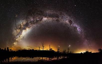 4k Milky Way Scifi Wallpapers Universe Digital
