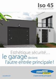 Porte De Garage Novoferm : porte de garage sectionnelle iso 45 by uwl wwp ~ Dallasstarsshop.com Idées de Décoration