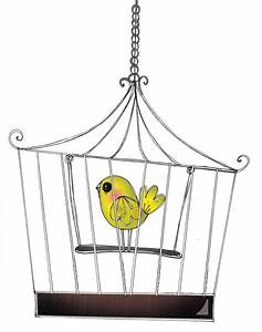 Bird in cage - Illustration by Elaheh Bos | bird cages ...